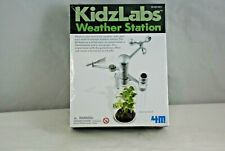 4M Kidzlabs Weather Station Toysmith Green Science Kit New and Sealed!