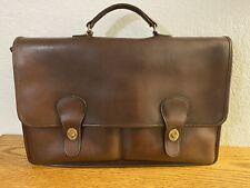 Vintage NYC Coach Burgundy Diplomat Briefcase 5170