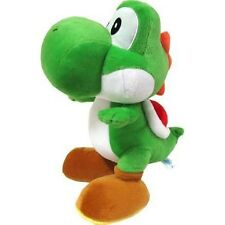 "Official Super Mario Bros Green Yoshi Plush Soft Toy - 7.5"" Sanei Japan Import"