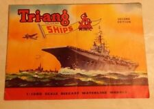 Vintage 1960 Tri-Ang 2nd Edition Minic Ships Original 16 pg. Color Catalogue