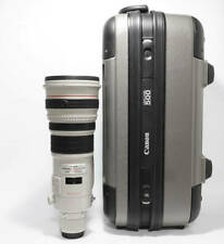 [Near Mint] Canon EF500mm F4L IS USM Camera Lens w/Case From Japan #7317