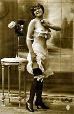 A4 Vintage 1920's Art Deco Pretty Nude Girls ..Victorian/Edwardian Beauties 220