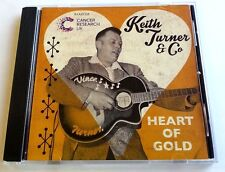 """KEITH TURNER - """"HEART OF GOLD"""" -ROCKABILLY ALBUM IN AID OF CANCER RESEARCH"""
