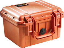 Orange Pelican ™ 1300 Case NF empty includes Your FREE Custom Engraved Nameplate