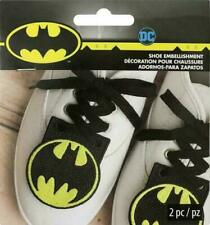 New listing Dc Comics Batman Shoe Embellishment 2 packs (4 pcs)