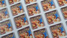 Pokemon Red Replacement gameboy sticker label PAL uk version glossy durable