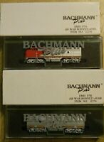 Bachmann Plus SF War Bonnet A&B Powered Locomotives N Scale Ships Free in US NIB