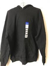 Gildan Men's Heavy Blend Fleece Hooded Sweatshirt, Medium, Black