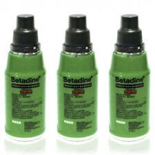 3pcs Betadine Mouthwash Gargle Sore Throat Antiseptic Oral iodine Solution 375ml
