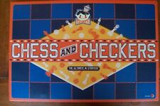 CHESS AND CHECKERS BOARD GAME WOODEN PIECES NEW UNOPENED