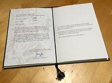 AUDEMARS PIGUET Certificate Authenticity Exclusivity Booklet ROYAL OAK 0789 OEM