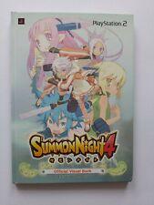 Summon Night 4 Visual Art Book Japan