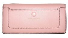MARC JACOBS Rose Leather Bifold Clutch Wallet NWT