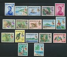 Dominica 1963 SG 162-78 MM