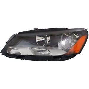For Passat 12-15, CAPA Driver Side Headlight, Clear Lens