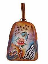 Balona Real Cow Leather Exclusive Designer Handpainted by artist Backpack