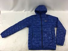 Patagonia Men's Micro Puff Hoody Viking Blue Jacket XS