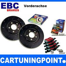 EBC B09 Bremsen Kit VA Beläge Scheiben für Mits. Outlander 2 CW_W DP954 USR1384