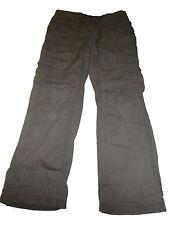 C & A tolle Hose Gr. 140 braun mit trendigen Taschen !!