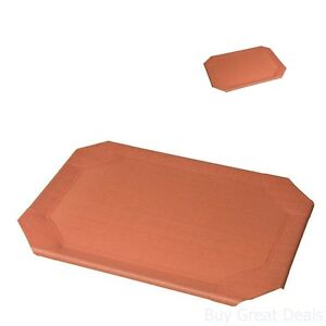 New Large Coolaroo Elevated Pet Dog Bed Replacement Cover Mat Cot Terra Cotta