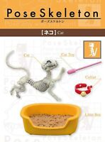 Re-ment Miniatures Pose Skeleton Poseskeleton Cat Figure Japan