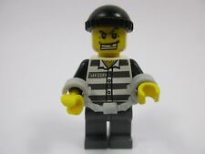LEGO City MINIFIG Jail Prisonner (cty007) Set 4436 7899 7743 7744 7237 7245 7724