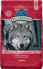 Blue Buffalo Wilderness Salmon Recipe Grain-Free Dry Dog Food 11-24 pounds
