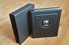WWF Sammelband: 9 verschiedene Kapitel (s.u.); Sammlung, Briefmarken