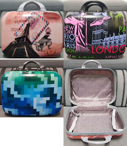 Hard Shell PC+ABS Cabin Suitcase Travel Luggage Lightweight Case Handbag Vanity