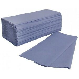 BLUE C FOLD Paper Hand Towels 1 Ply Multi Fold Tissues Toilet BATHROOM ANY QTY