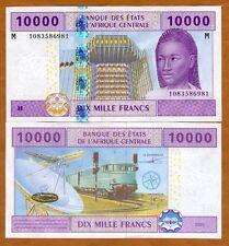 Central African Republic, States, 10000 (10,000) Francs 2002 (2015), P-310M, UNC