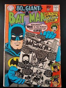 🦇 BATMAN #198 (1968 DC Comics) VG Book