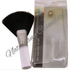 Royal Premier Fan Cosmetic Makeup Blending Highlighter  Face Powder Brush + CASE
