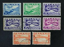 CKStamps: Iceland Stamps Collection Scott#C15/C20 Used
