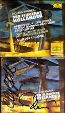 Placido Domingo & Cheryl Studer firmato Wagner delle volanti hölländer Sinopoli