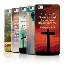 STUFF4 Back Case/Cover/Skin for Huawei P8 Lite/Christian Bible Verse