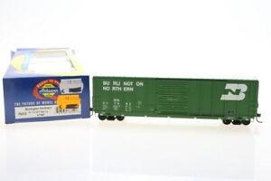 H0 Athearn 76312 BN 217662 Burlington Northern Güterwagen boxcar OVP grün/J48