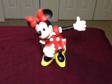 Disney Very Rare Minnie Mouse Thumbs Up Porcelain Figurine 6 1/2 Inches Tall