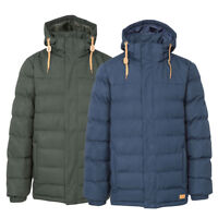 Trespass Mens Westmorland Insulated Padded Water Resistant Jacket | Quilted Coat