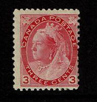 Canada SC# 78 Mint Lightly Hinged / Light Gum Tone - S11201