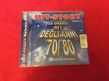 HIT STORY volume 1 - LE GRANDI HIT DEGLI ANNI 70 80 - compilation cd musica
