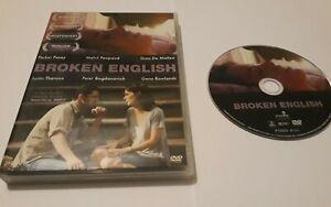 Broken English 2007 DVD Worldwide Post! Justin Theroux Melvil Poupaud