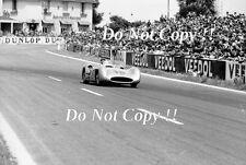 Juan Manuel Fangio Mercedes W196 ganador francés Grand Prix 1954 fotografía