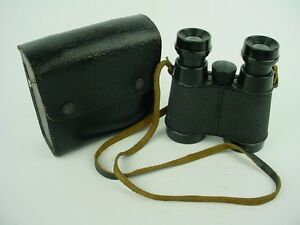 Airguide 4X35 Vintage Compact Opera Binoculars Magnification 49A - Used Glass !