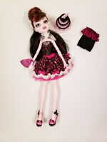 Monster High SWEET 1600 Draculaura Mattel Doll 2012 Discontinued EUC Exclusive