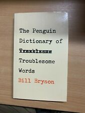 """1984 1ST EDITION BILL BRYSON """"PENGUIN DICTIONARY OF TROUBLESOME WORDS"""" BOOK (P3)"""