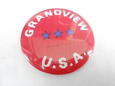 VINTAGE  PINBACK BUTTON #105-061 - GRANDVIEW U.S.A.