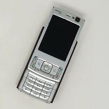 "Nokia N95 2.6"" 3G 5MP - Silver - Slide Symbian Mobile - Good Condition - Virgin"