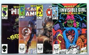 What If (1977 series) #42,43,44,45 Avg NM New Marvel Collection
