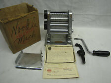 Vintage Columbus Noodle Maker ~ Model 62 Serial Number 9877 ~ Rare ~ Well Built